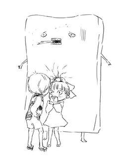 鬼太郎が猫娘に壁ドンしたらこうなるwww