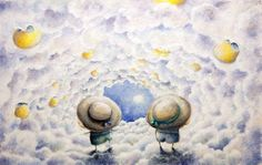 Behind the clouds comes an unknown world for exploration by [Jeanie Leung]