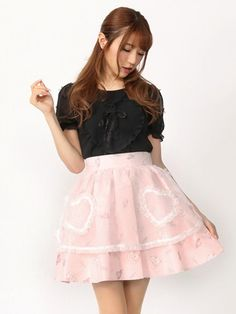 Lapinプリントスカート