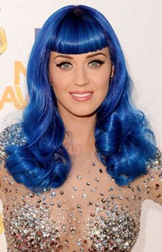 Blue Hair Color #blue #hair