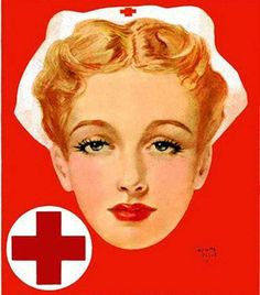 Give Through American Red Cross (1954) by Henry Clive for The American Weekly