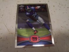 2012 Topps Chrome 189 David Wilson RC Rookie Card Virginia Tech Hokies Giants   eBay