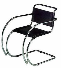 MR Chaise Longue (model 104) Ludwig Mies van der Rohe