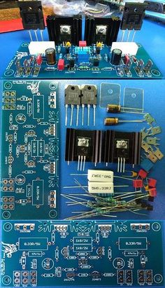Amplifier Parts and Components: Hiraga 30W A Class Amplifier D.I.Y. -> BUY IT NOW ONLY: $30 on eBay! Electronics, Diy, Tecnologia, Bricolage, Do It Yourself, Homemade, Consumer Electronics, Diys, Crafting