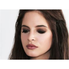 Binky's 90s Grunge Look - Escentual's Beauty Buzz ❤ liked on Polyvore featuring beauty products, makeup, hair and beauty