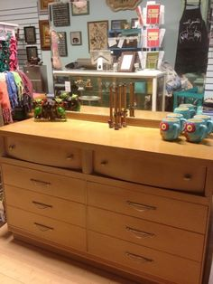 from krrb classifieds blonde mid century dresser with mirror blonde