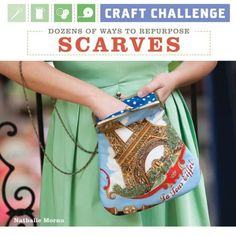 cute book with easy fun projects using scarves!