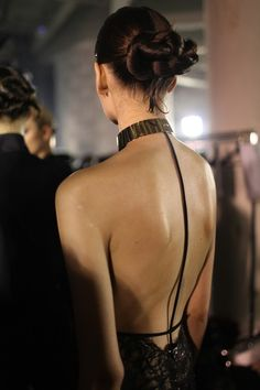 Backstage at Alexandre Vauthier couture ss 2013