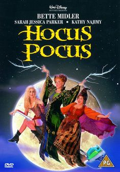 Hocus Pocus was a Kenny Ortega film from 1993 and, as the name suggests, it was indeed a (Disney) film about witches. Description from goodreads.com. I searched for this on bing.com/images