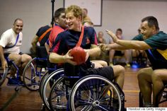 Prince Harry Plays Wheelchair Football With Wounded Soldiers, Continues His Reign As Our Favorite Royal