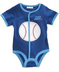 First Impressions Baby Bodysuit, Baby Boys Baseball French Creeper