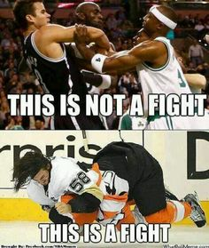 hockey fights