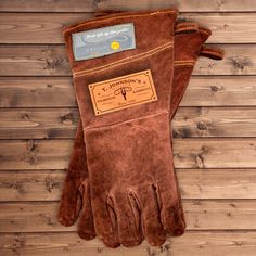 The Grillmaster is only as good as his tools.  Handmade Leather Grilling Gloves | GUYVILLE