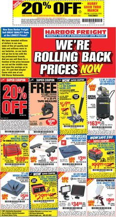 50 Off Harbor Freight Coupon Image Gallery Harbor Freight 40 Off ...