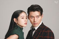 Crash Landing On You-Hyun Bin-K Drama_id-Subtitle Korean Actresses, Korean Actors, Actors & Actresses, Asian Actors, Drama Korea, Korean Drama, Korean Couple Photoshoot, Vogue Korea, Couple Photography Poses