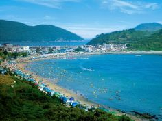 산과 바다, 마을과 해변이 모두 모인 거제도 최고의 여름 휴양지 경남 거제 구조라해변