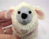 sheep rat mouse doll