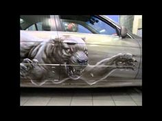 Airbrush Art on cars Most wicked artwork auto painting