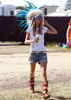 Glastonbury festival style 2013