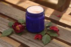 Rose Face & Body Cream Recipe - The Nerdy Farm Wife