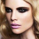 Nathalie Cox make-up pink lips beauty