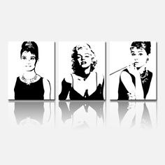 portretten filmsterren foto zwart wit - Google zoeken