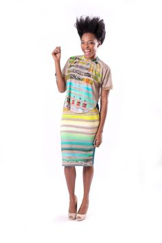www.tamaraheraclio.com Croap top + pencil skirt= Sarah
