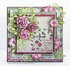 Designs by Marisa: Heartfelt Creations - Life is Good Card