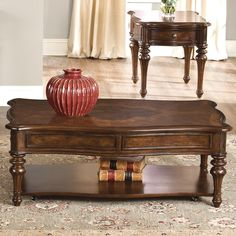 Liberty Furniture 259-OT1010 Andalusia Cocktail Table - Home Furniture Showroom