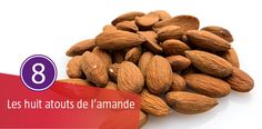 Les Amandes sont des aliments très intéressant au point de vue nutritionnel mais elles ont surtout pour atout de protéger notre cœur. Elles peuvent être incorporées aussi bien dans les plats sucrés que salés, sous différentes formes (effilées, en poudre, en purée, ou à croquer).