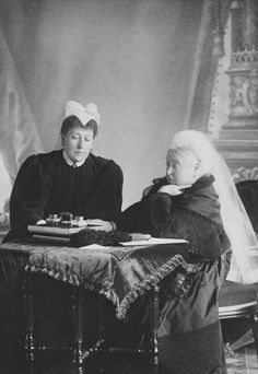 Queen Victoria and Princess Beatrice, c. 1896 | Royal Collection Trust