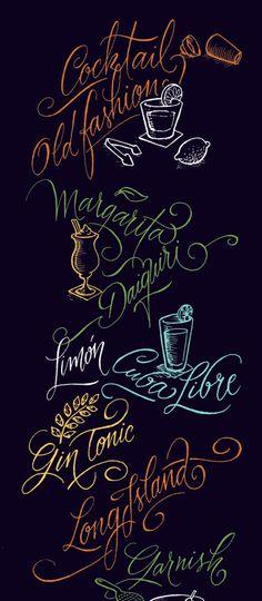 Fantastic lettering work by Argentinian designer Panco Sassano.