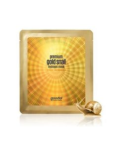 Enjoy a luxurious hydrating treatment with this gold snail hydrogel mask that gives vitality and radiance to skin. Formulated with 10,000ppm of golden snail secretion, this hydrating mask is infused w