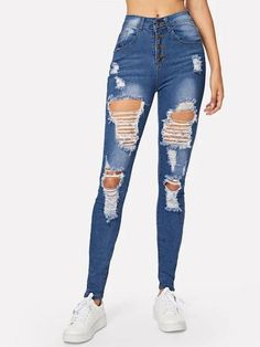 Ripped Bleach Wash Skinny Jeans – GaGodeal 2019 skinny jeans outfit su… Ripped Bleach Wash Skinny Jeans – GaGodeal 2019 skinny jeans outfit summer and skinny jeans outfit jeans and sandals outfit jeans and shirt outfit Ripped Knee Jeans, Lässigen Jeans, Cargo Jeans, Flare Leg Jeans, Casual Jeans, Distressed Skinny Jeans, Riped Jeans, Light Ripped Jeans, Women's Casual