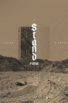 Stand Firm: Words of Encouragement From 1 and 2 Peter - Sermon Series & Sermon Graphics - Ministry Pass Church Graphic Design, Church Design, Graphic Design Inspiration, Graphic Design Art, Shirt Logo Design, Christian Posters, Mood Instagram, Sermon Series, 2 Peter