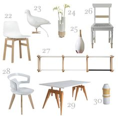 S H O P P I N G 1 Nordic Candleholder by Design House Stockholm, $69 at Horne. 2 Steelwood Chair by Magis, $658 at Nova68. 3 Cerno Silva Desk Lamp, $427.91 at Lamps Plus. 4 Woody Dining Table by … Continue reading →
