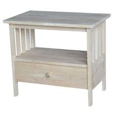 """Mission TV Stand with Drawer - 28"""""""
