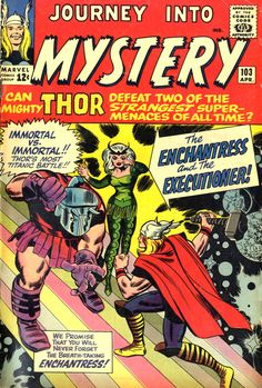 Journey into Mystery 103-1st Appearance of Executioner and Enchantress
