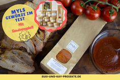Gewürze von myls | Verfeinere deine Speisen | Mit Gewinnspiel! - Susi und Kay Projekte Dairy, Cheese, Food, Pan Fried Potatoes, Goulash, Deep Frying, Easy Meals, Meals