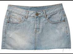 Como transformar uma saia em bolsa