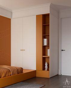 Wardrobe Furniture, Built In Furniture, Furniture Design, Room Interior, Interior Design, Study Room Design, Student Room, Bauhaus, Villa