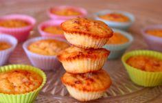 Mini muffins prosciutto e parmigiano!