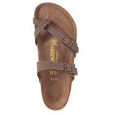 Women's | Birkenstock Mayari Birkibuc - Mocha Birkibuc - FREE SHIPPING at Shoes.com