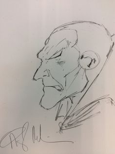 This is a Vision Sketch done by Angel Medina for my good friend Jim Johnson. He was nice enough to share it with me!