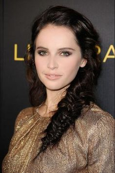 Felicity Jones - Tips for Holiday Hair and Makeup - Harpers BAZAAR