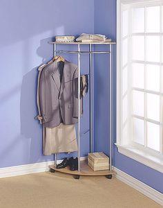 Corner Garment Rack By Club Clean