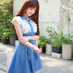 1000  images about Jean Dress on Pinterest  Jean Dresses Blue ...