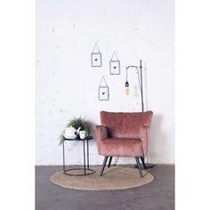 Fauteuil Fonz - Roze   Giga Meubel - Betaalbare meubelen bij Giga Meubel in Soest Ruby Room, Cosy Corner, Space Crafts, Home Office, Accent Chairs, New Homes, Shelves, Bedroom, House
