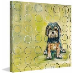 Marmont Hill Baxter by Tori Campisi Painting Print on Canvas, Size: 32 inch x 32 inch, Multicolor