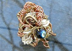 Rococo Ring by Klewism, via Flickr